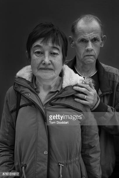 Married couple Aileen and Alan pose for a picture on October 25 2017 in Newcastle upon Tyne England Aileen says 'Weve been on Universal Credit about...