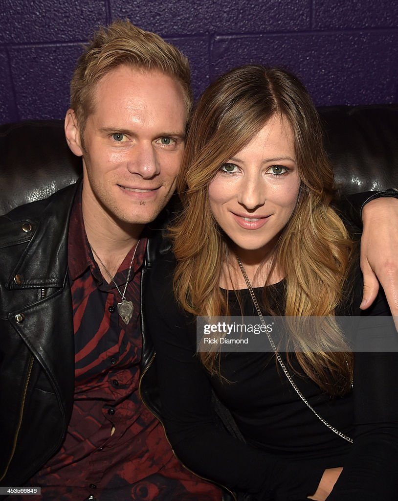 Married couple Chris Rademaker and Jodi King are 'Love & the Outcome' Togeather they announce the nominees for the the 45th Annual GMA Dove Awards Nominations Press Conference at Allen Arena on Lipscomb University campus, August 13, 2014 in Nashville, Tennessee.