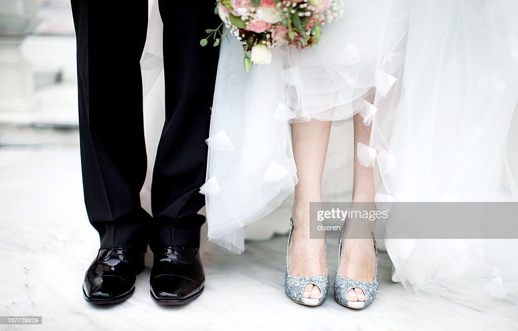 Sposi coppia : Foto stock