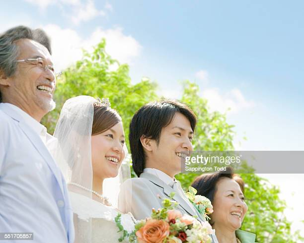 Married Couple With Parents