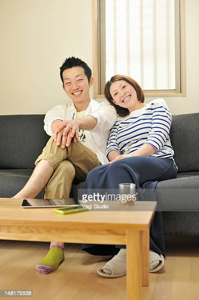 A married couple's portrait