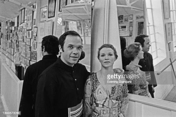 Married Russian ballet dancers André Prokovsky and Galina Samsova, UK, 4th May 1973. They left the London Festival Ballet in 1973 to form their own...