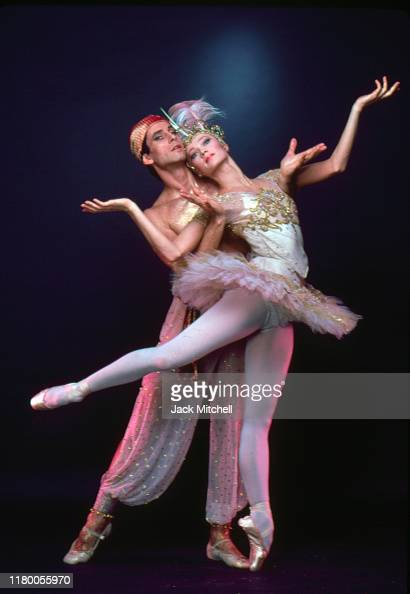 Portrait of Russian-born American ballet dancer Leonid