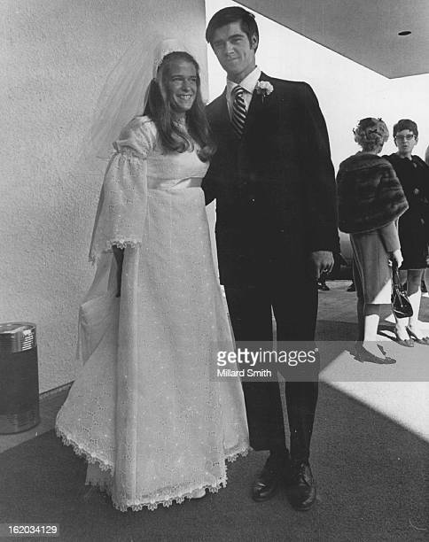 MAR 14 1970 MAR 16 1970 Married Saturday Mr and Mrs Douglas John Heyliger leave the Roman Catholic Church of the Risen Christ Following afternoon...