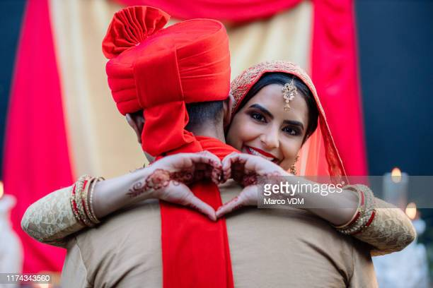 i married the love of my life - hinduism stock pictures, royalty-free photos & images