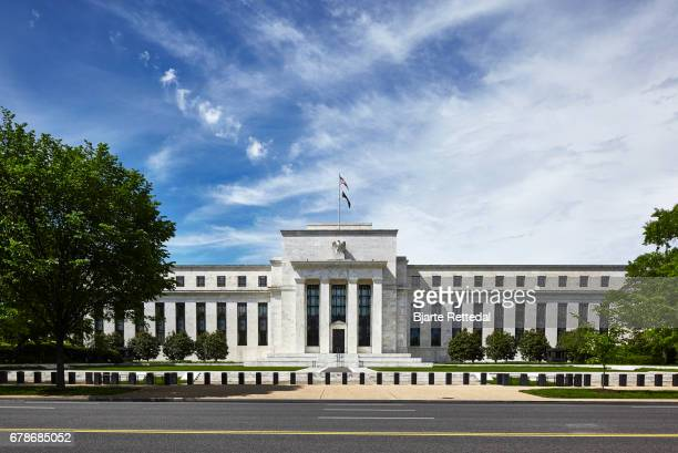 marriner s. eccles federal reserve board building - federal reserve stock pictures, royalty-free photos & images