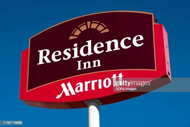 Marriott Hotels seen at the Residence Inn in Las Vegas.