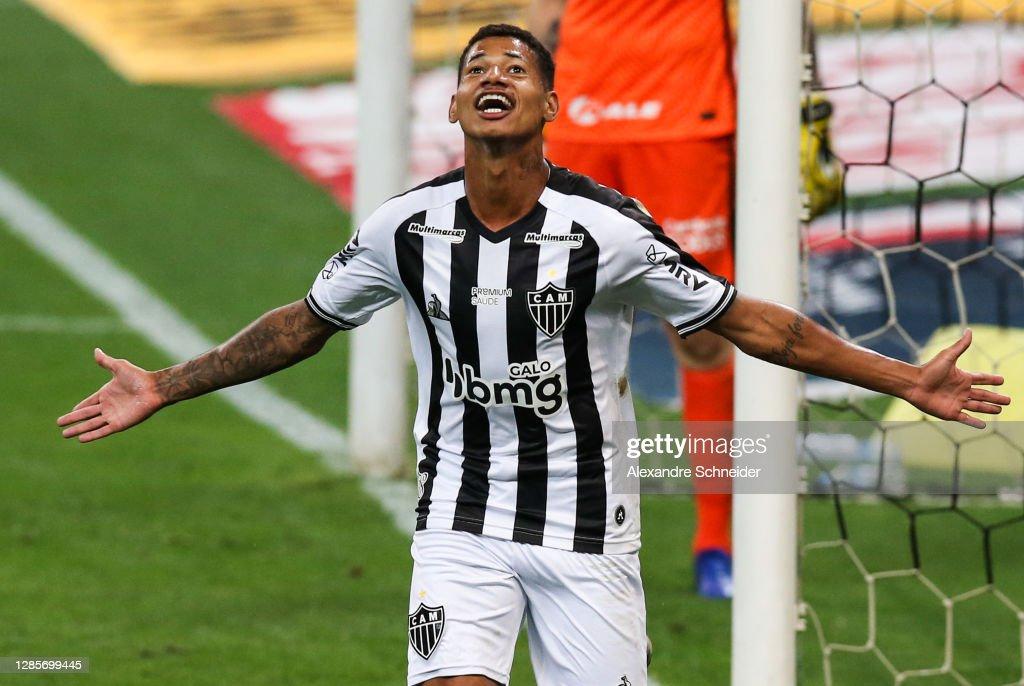 2020 Brasileirao Series A: Corinthians v Atletico MG  Play Behind Closed Doors Amidst the Coronavirus (COVID - 19) Pandemic : ニュース写真