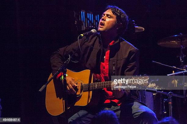 Marrow 95 performs onstage at Highline Ballroom on October 27 2015 in New York City