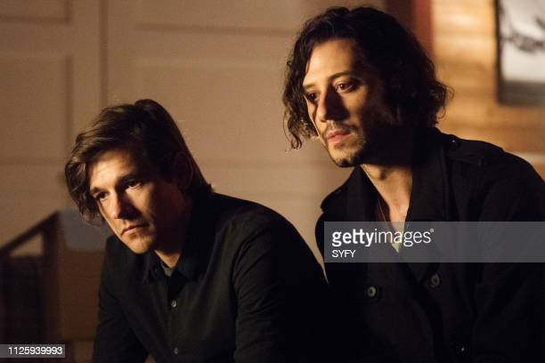 THE MAGICIANS Marry Kill Episode 404 Pictured Jason Ralph as Quentin Coldwater Hale Appleman as Eliot Waugh