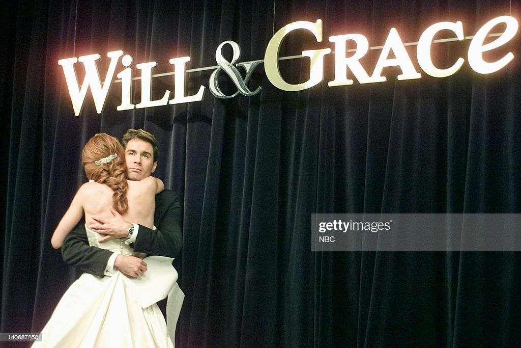 WILL & GRACE -- 'Marry Me a Little More' Episode 9 -- Pictured: (l-r) Debra Messing as Grace Adler, Eric McCormack as Will Truman -- Photo by: NBCU Photo Bank