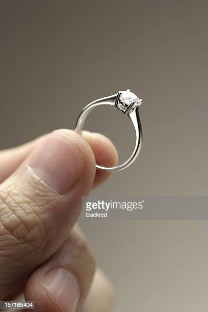 marry me? - platinum rings stock pictures, royalty-free photos & images