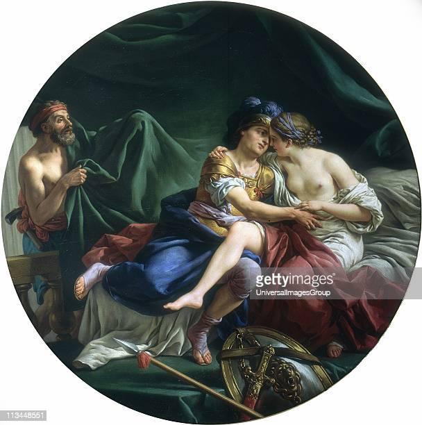 Mars and Venus surprised by Vulcan' Louis Lagrenee also know as l'Aine French painter