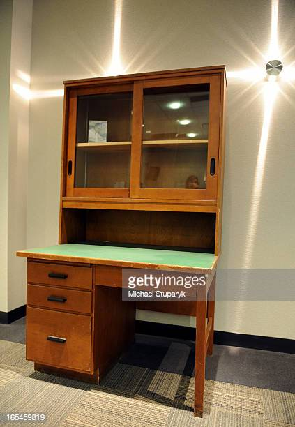 MaRS Centre on College St and University Ave behind the scenes Sir Frederick Banting's desk in the main office area