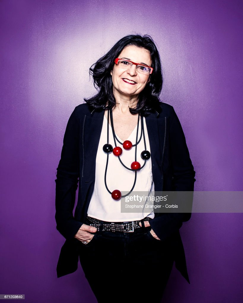 CEO, Mars Petcare et Food , Myriam Cohen Wellgryn poses during a photo-shoot on January 05, 2017 in Paris, France.