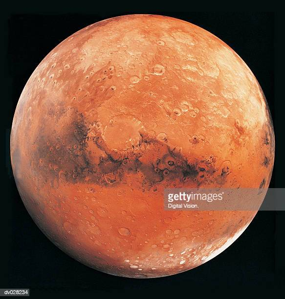 mars, the schiaparelli hemisphere - mars stock pictures, royalty-free photos & images