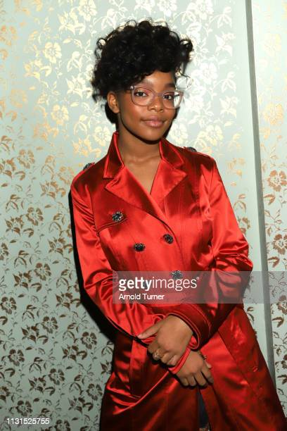 Marsai Martin attends Common's 5th Annual Toast to the Arts at Ysabel on February 22 2019 in West Hollywood California