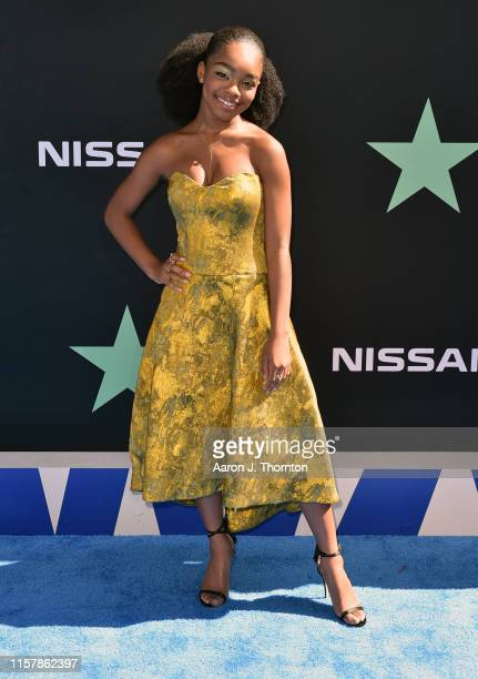 Marsai Martin attends the 2019 BET Awards at Microsoft Theater on June 23 2019 in Los Angeles California