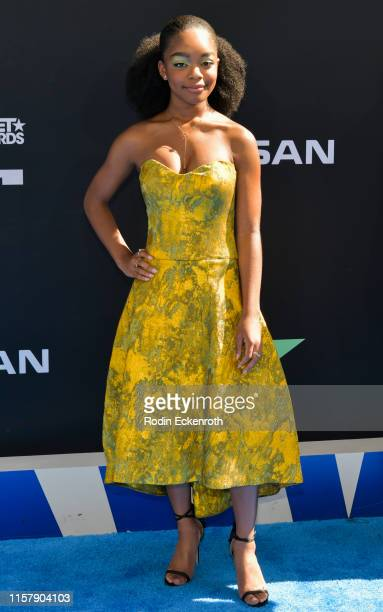 Marsai Martin attends the 2019 BET Awards on June 23 2019 in Los Angeles California
