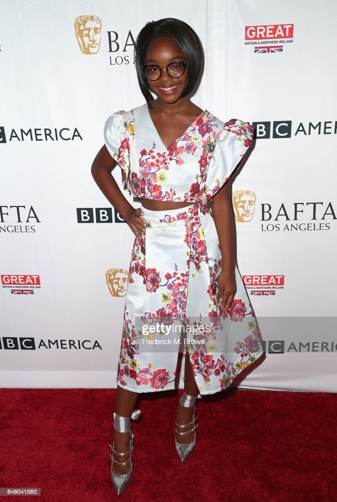 Marsai Martin attends the BBC America BAFTA Los Angeles TV Tea Party 2017 at The Beverly Hilton Hotel on September 16, 2017 in Beverly Hills, California.