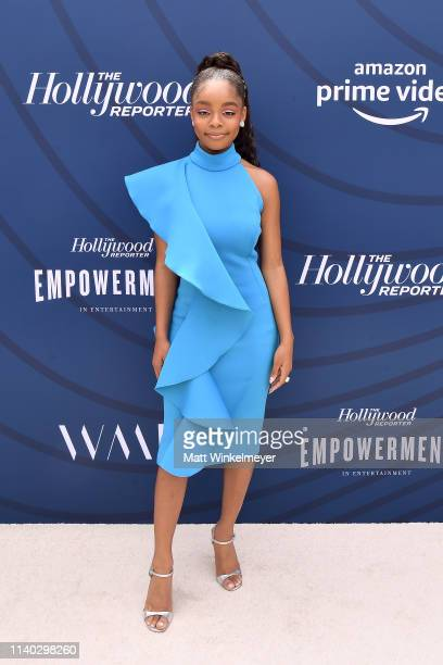 Marsai Martin attends The Hollywood Reporter's Empowerment In Entertainment Event 2019 at Milk Studios on April 30 2019 in Los Angeles California