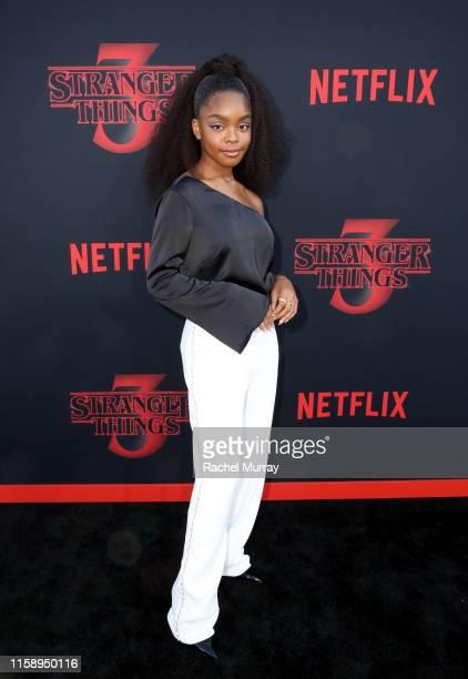 Marsai Martin attends the Stranger Things Season 3 World Premiere on June 28 2019 in Santa Monica California