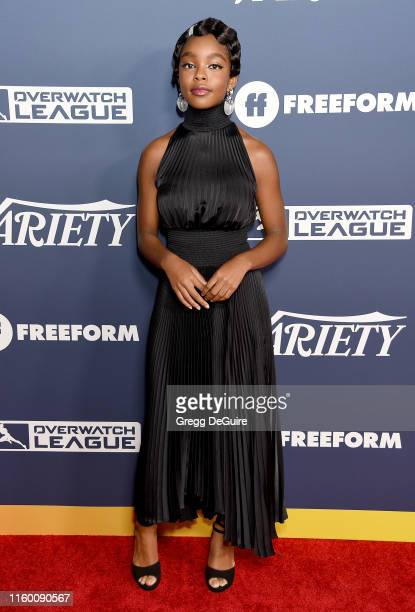Marsai Martin attends Variety's Power Of Young Hollywood at The H Club Los Angeles on August 6, 2019 in Los Angeles, California.