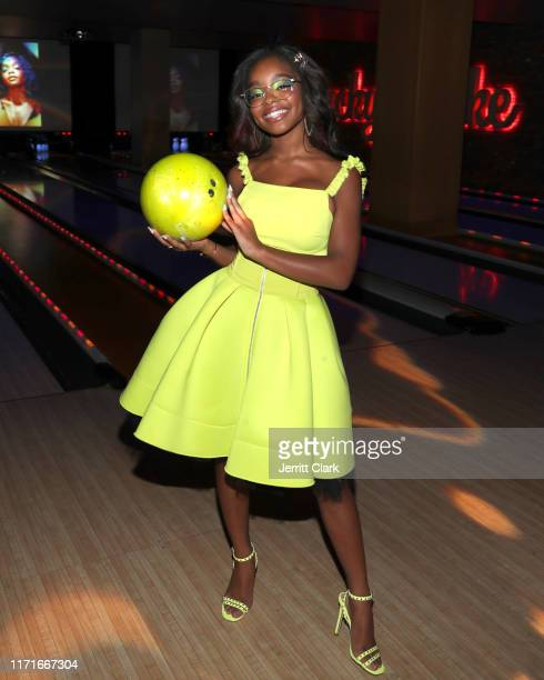 Marsai Martin celebrates her 15th Birthday Party at Lucky Strike LA Live on September 01 2019 in Los Angeles California