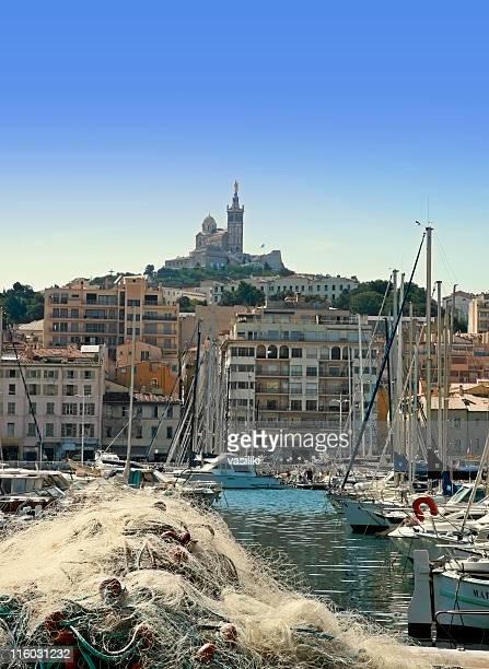 Marseille et Notre Dame de la Garde