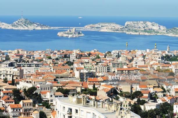 """Marseille und Blick auf das Schloss d """"Wenn"""