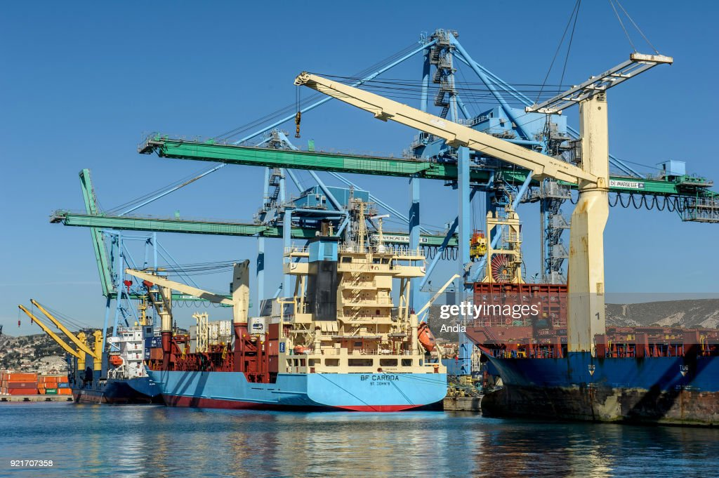 Marseille-Fos Port. : News Photo
