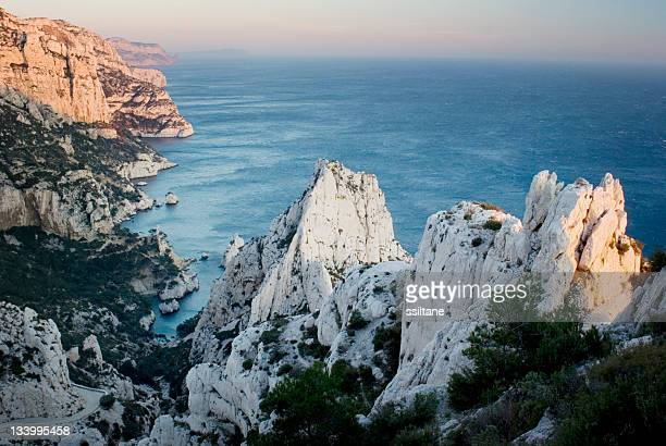 marseille france creeks - marseille stock pictures, royalty-free photos & images