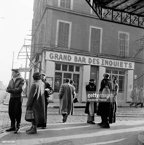 Marseille France en 1956