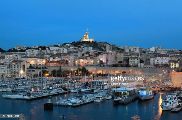 Marseille Old Port at Night