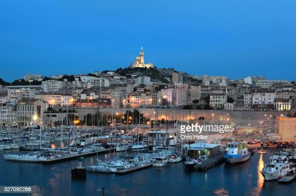 Marseille Old Port at Night