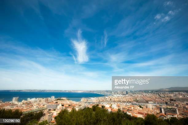 Marseille Panorama from Notre Dame de la Garde