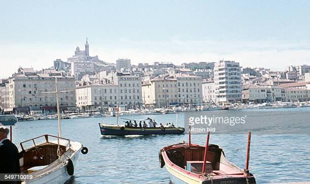 Marseille the waterfront around 1958