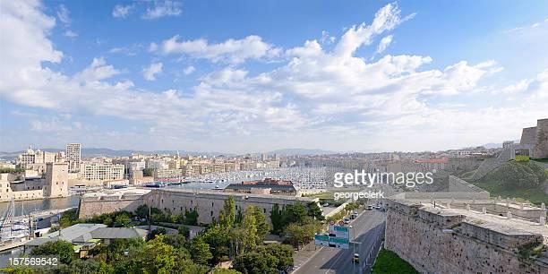 Panorama Vieux Port de Marseille