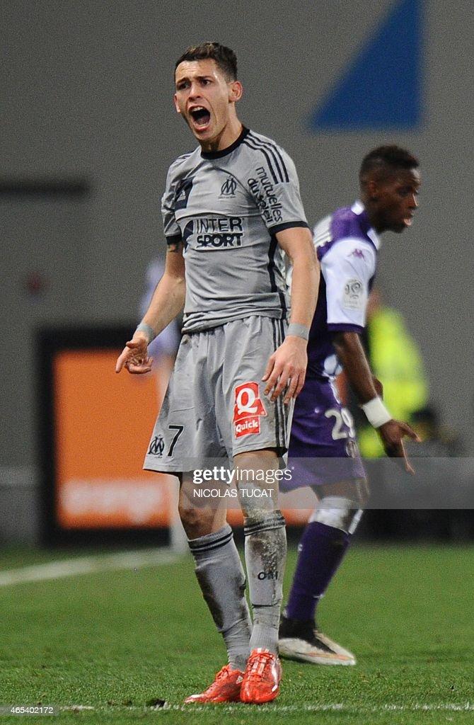 Toulouse v Olympique de Marseille - Ligue 1