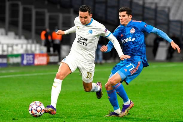 FRA: Olympique de Marseille v Olympiacos FC: Group C - UEFA Champions League