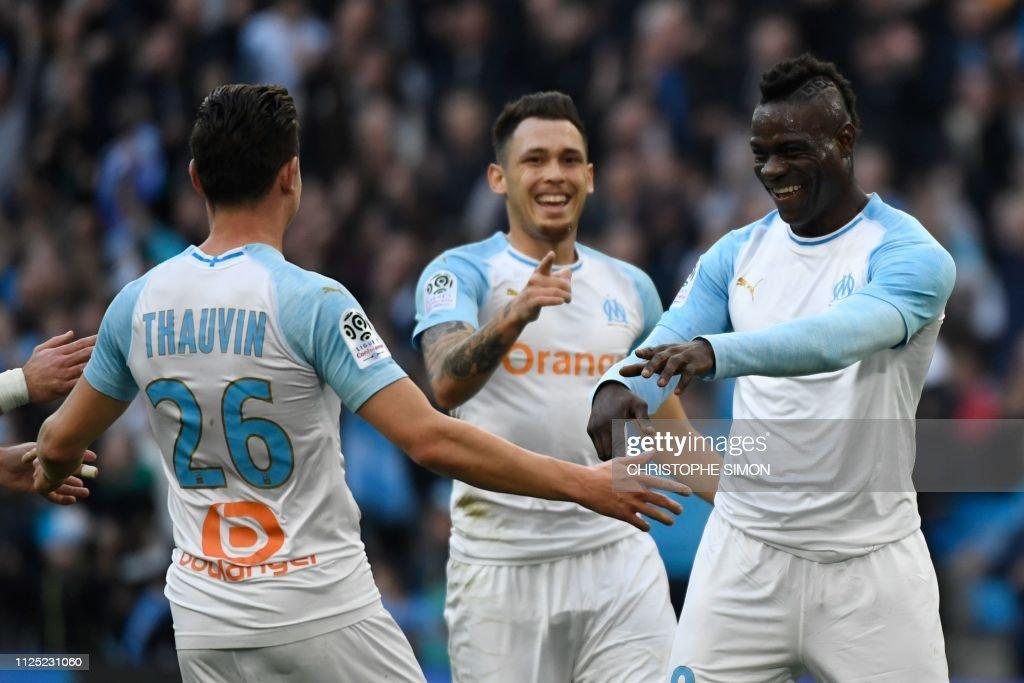 FRA: Olympique Marseille v Amiens SC - Ligue 1