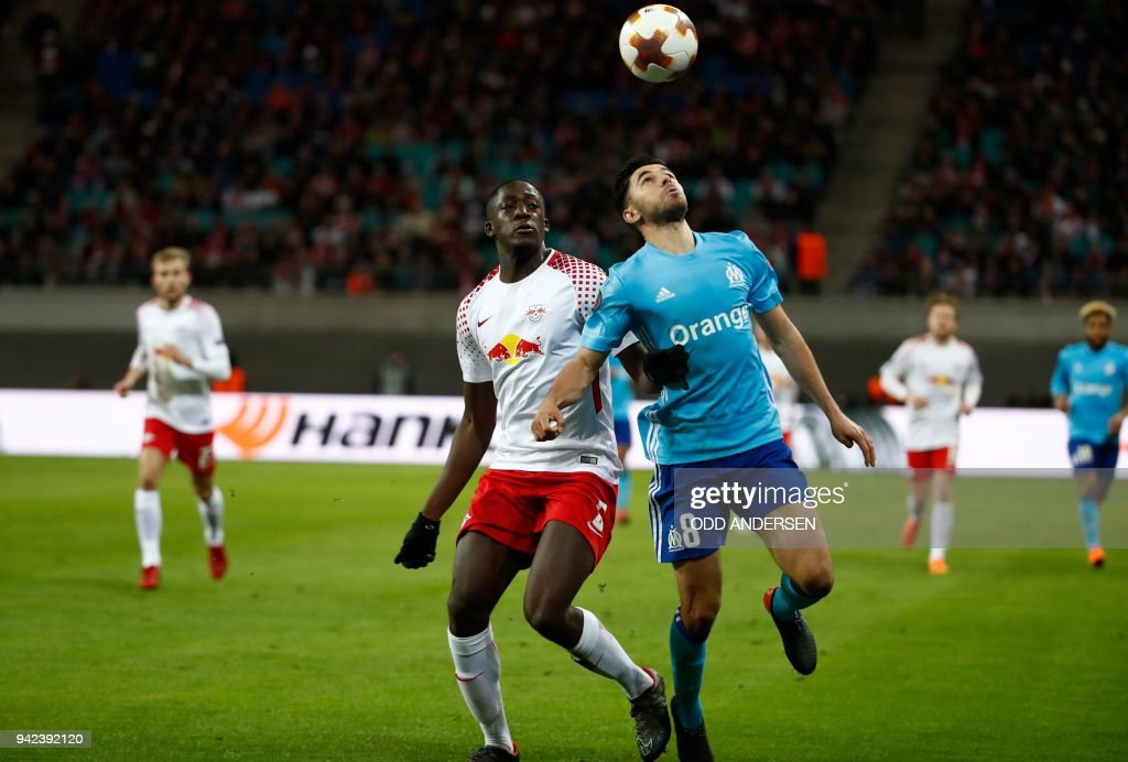 FBL-EUR-C3-LEIPZIG-MARSEILLE : News Photo