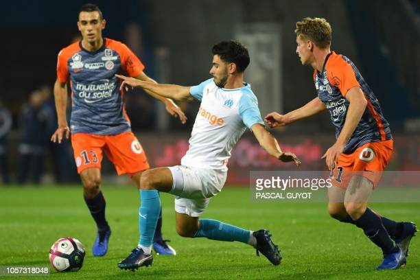 FRA: Olympique Marseille v Montpellier HSC - Ligue 1