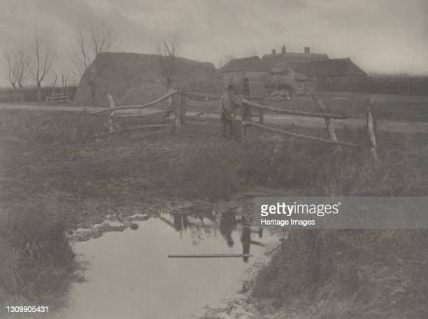 Marsh Farm, 1886. Artist Dr Peter Henry Emerson, Thomas Frederick Goodall. .