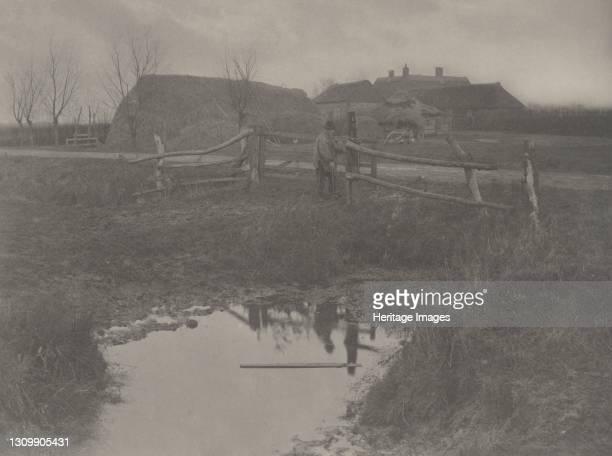Marsh Farm, 1886. Artist Dr Peter Henry Emerson, Thomas Frederick Goodall. .