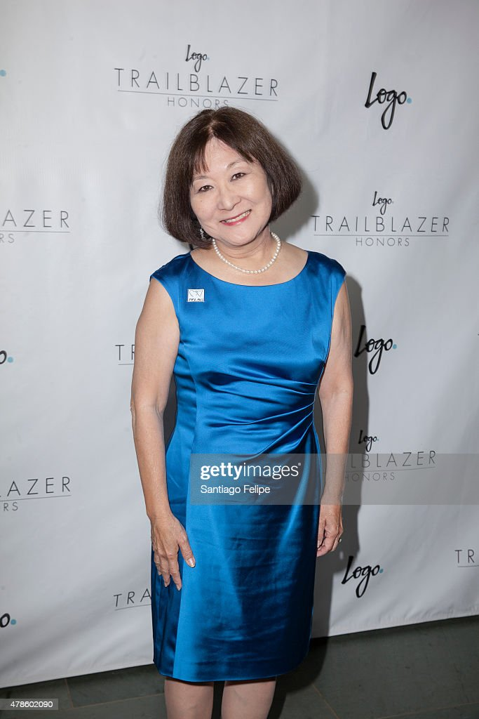 Marsha Aizumi attends Logo TV's 'Trailblazers' at the Cathedral of St. John the Divine on June 25, 2015 in New York City.