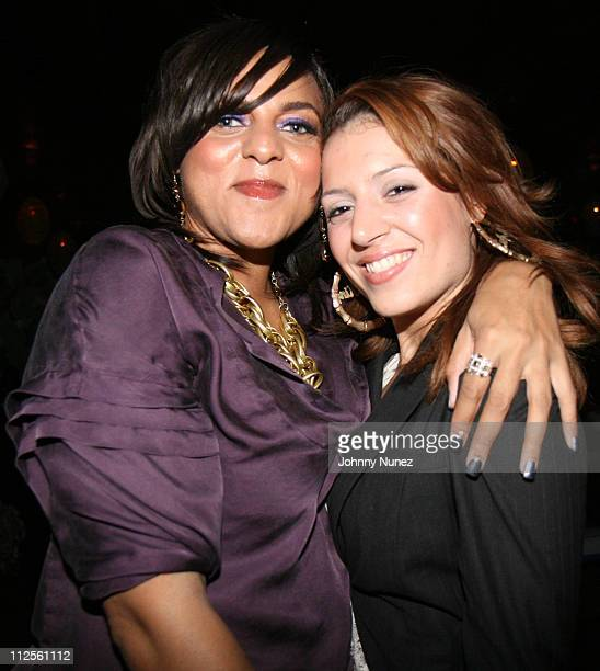 Marsha Ambrosius and Emily King attends VH1 Hip Hop Honors Weekend 2007/ Black Girls Rock! - After Party on October 6, 2007 in New York City, NY.