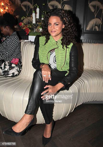 Marsha Ambrosius attends Dark and Lovley Presents Au Naturale at No. 8 on February 27, 2014 in New York City.
