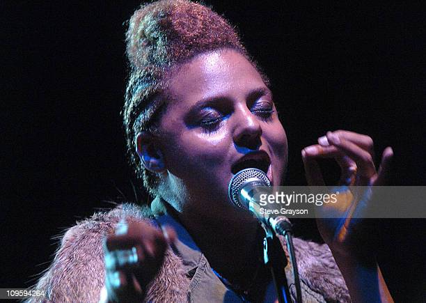 Marsha Ambrosius of Floetry during Erykah Badu Presents Official Sugar Water Festival After Party and Jam Session - August 10, 2005 at The Key Club...