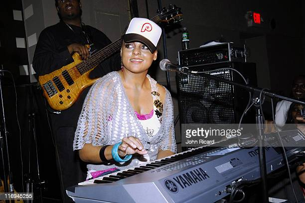 Marsha Ambrosius of Floetry during Floetry in Concert at S.O.B.'s in New York City - November 9, 2005 at S.O.B.'s in New York City, New York, United...